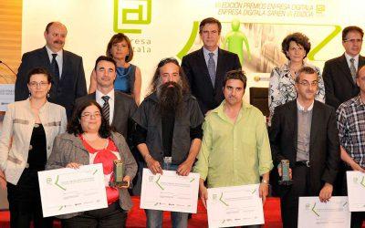 La empresa Fudike, galardonada con el primer premio de Enpresa Digitala