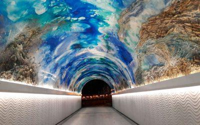 ItsasArte/MiramArt: el túnel del Antiguo cobra vida