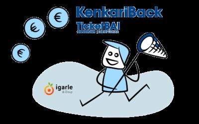 Las empresas voluntarias de TicketBAI podrán obtener su bonificación del 60% por adelantado con Kenkariback